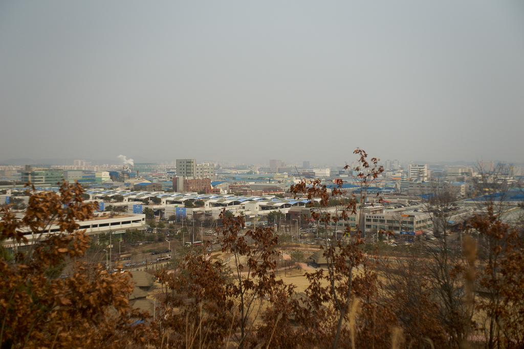 Вид на промышленный комплекс Сихва. (Фото: Ян Матусевич)