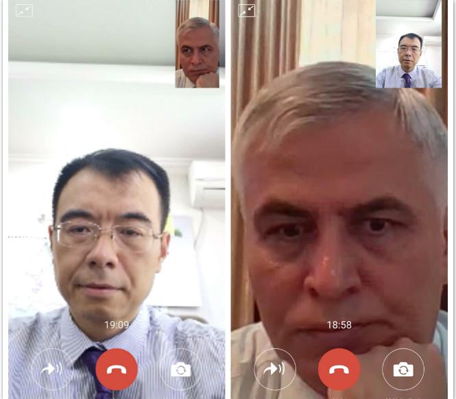Сложный разговор: замминистра иностранных дел Таджикистана просит Пекин цензурировать информацию о территориальных претензиях. (Фото: посольство КНР в Душанбе)