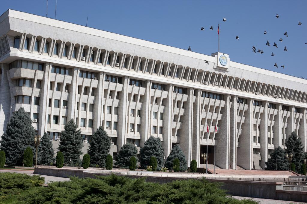 Здание парламента Кыргызстана. (Фото: Eurasianet.org)