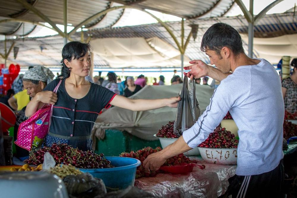 фото как люди живут в узбекистане полимерной основы